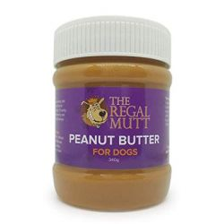 The Regal Mutt Peanut Butter For Dogs 340g