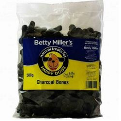 Betty Miller's 100% Natural Charcoal Bones 500g