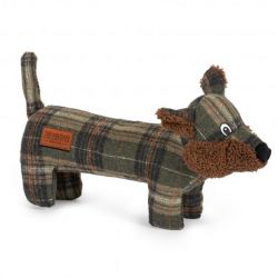 Ancol Heritage Tweed Fox Dog Toy