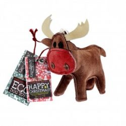 Green & Wilds Rudy The Reindeer Eco Natural Dog Toy